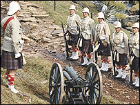Scene from Carry On Up the Khyber