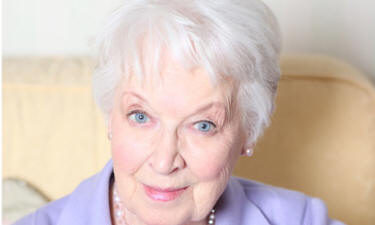 Actress June Whitfield has no thoughts of retiring